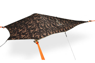 UNA 1-Person Hammock Tent with Camo Rainfly