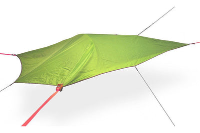UNA 1-Person Hammock Tent with Fresh Green Rainfly