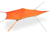 UNA 1-Person Hammock Tent with Orange Rainfly