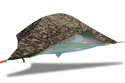 Vista 3-Person Modular Tree Tent with Camo Rainfly