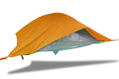 Vista 3-Person Modular Tree Tent with Orange Rainfly