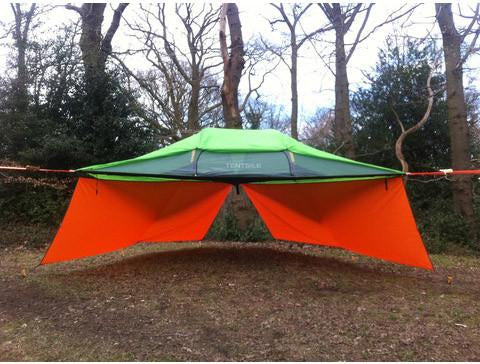 Orange Tent Walls for Tree Tent or Hammock
