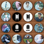 Youpop KPOP BTS Bangtan Boys New Logo Album Love Yourself Brooch Pin Badge Accessories For Clothes Hat Backpack Decoration
