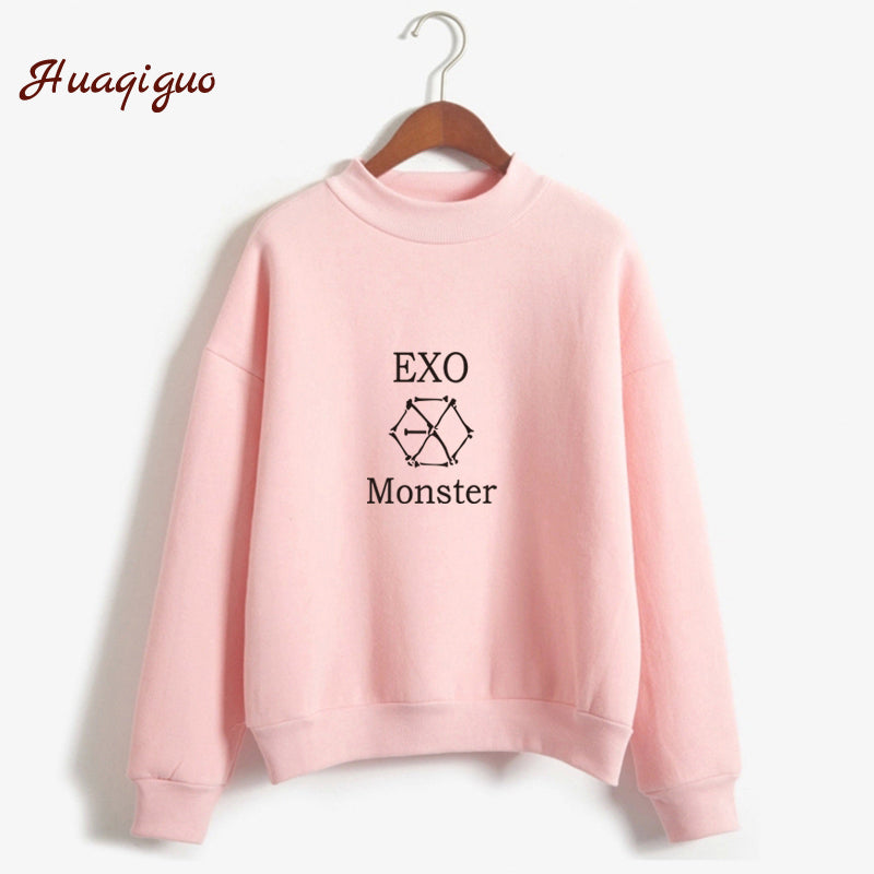 Kpop Exo Sweatshirt Autumn Winter Harajuku Casual Hoodies