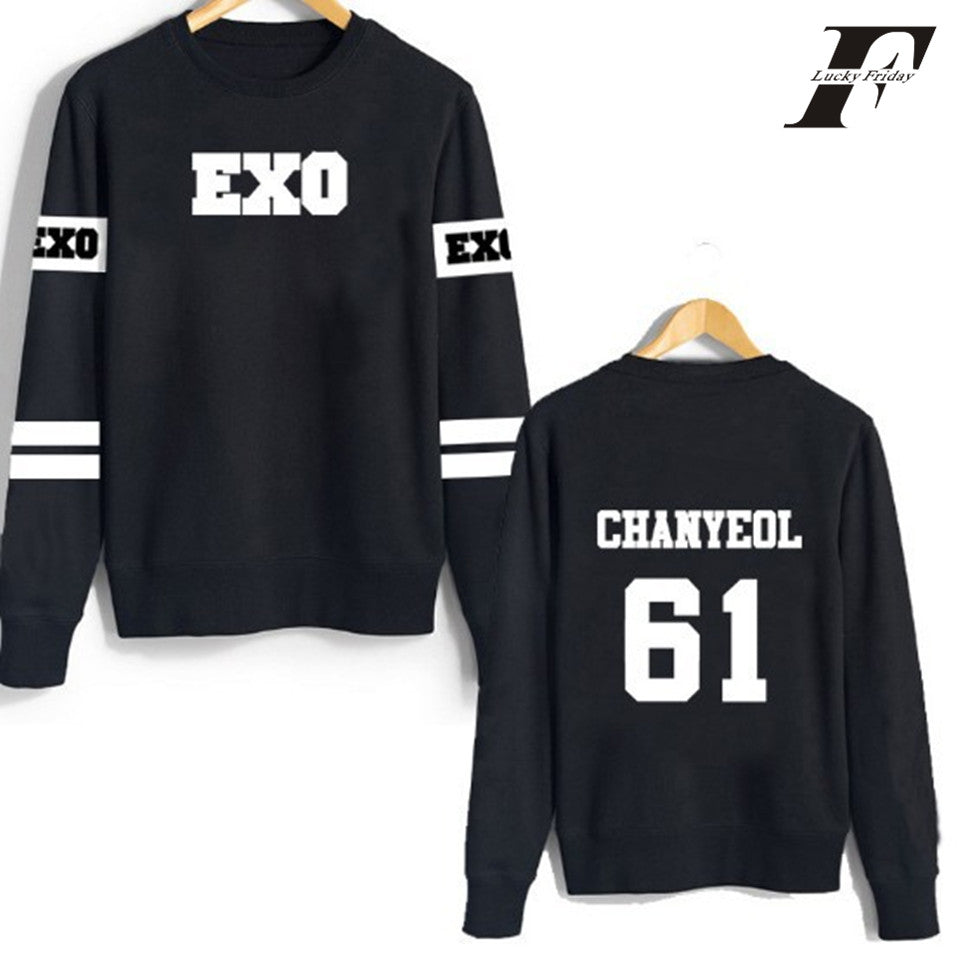 K-Pop Exo Sweatshirts