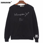 MONSTA X Album SHINE FOREVER Pullovers Fleece Sweatshirts