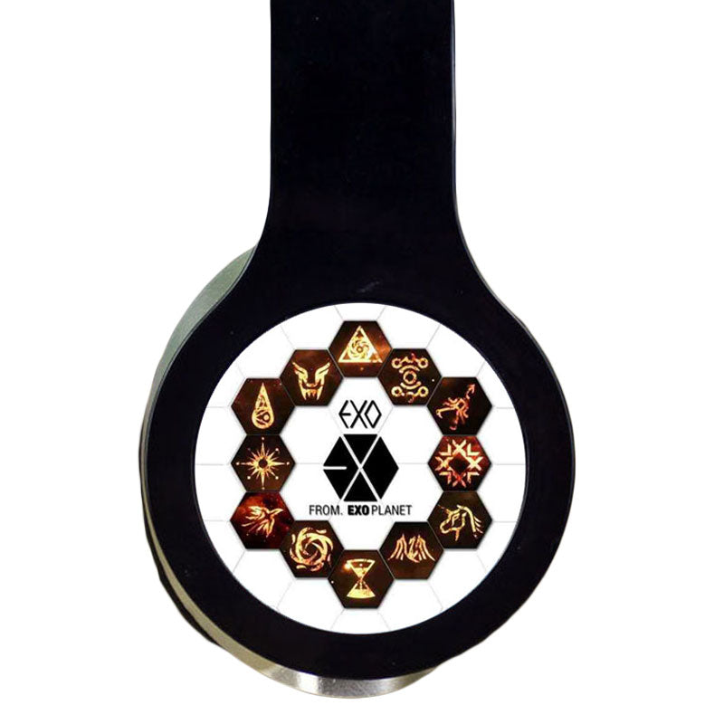 EXO Custom Logo Dual Port Headphones