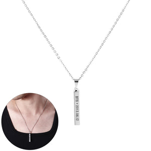 FREE BTS Steel Pendant Necklace