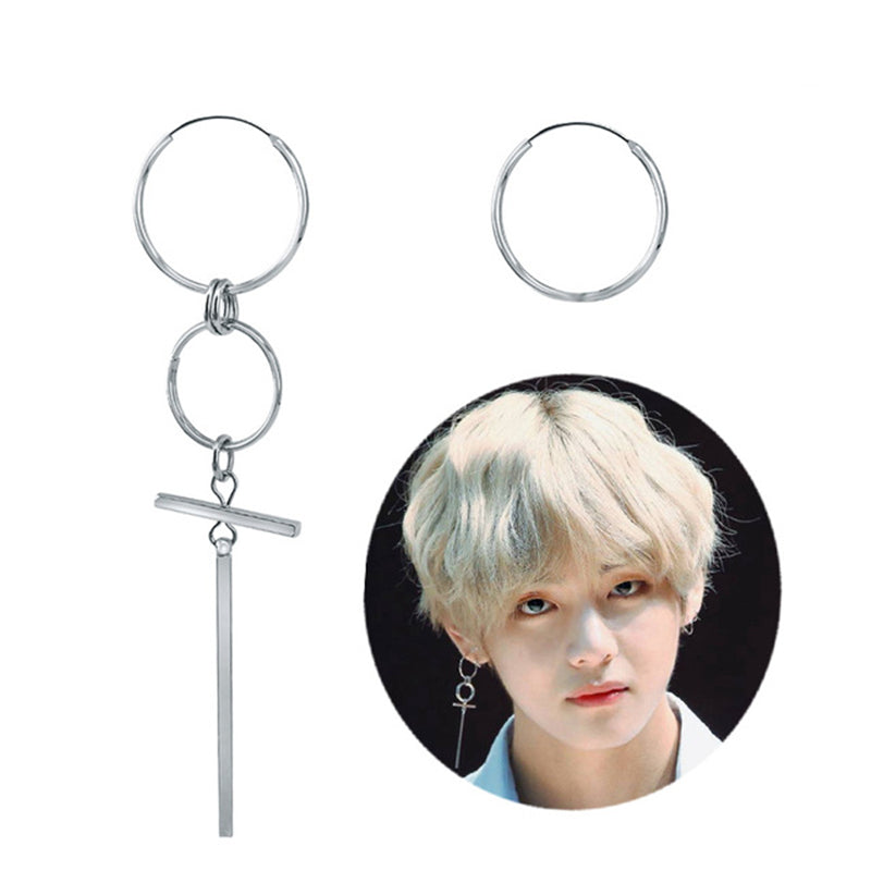 V BTS Earrings DNA Korean Earrings