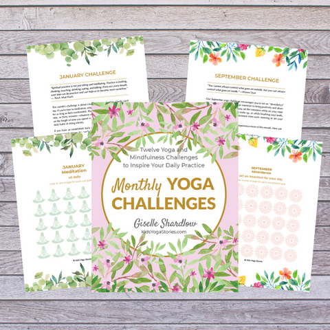 monthly yoga challenges