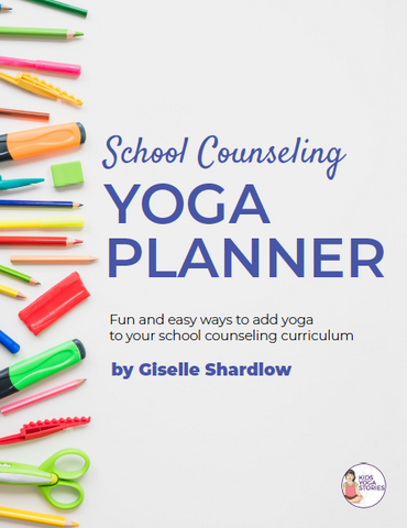 school counseling yoga for kids