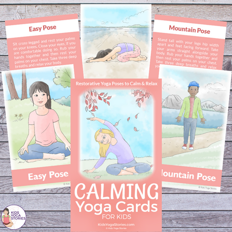 calming cards for kids