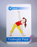 Yoga Poses for Kids Cards (Deck One)