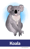 Australia Yoga Cards for Kids