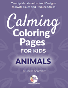 Calming Coloring Pages for Kids - Animals