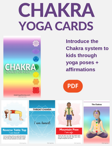 Chakra Cards for Kids
