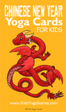 Chinese New Year Yoga Cards for Kids