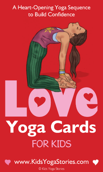 LOVE Yoga Cards for Kids