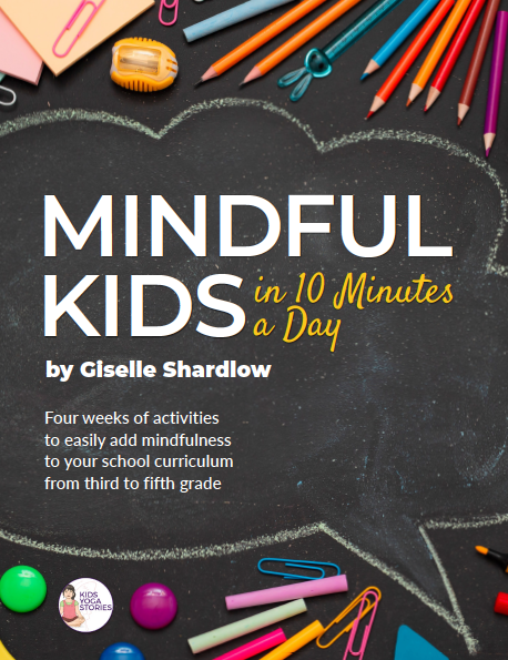 Mindful Kids in 10 Minutes a Day: 3rd-5th Grade (Workbook Only)