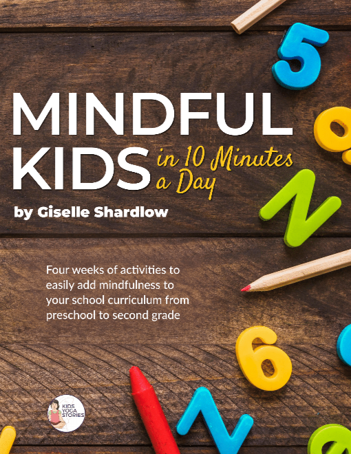 Mindful Kids in 10 Minutes a Day: Preschool-2nd Grade (Workbook Only)
