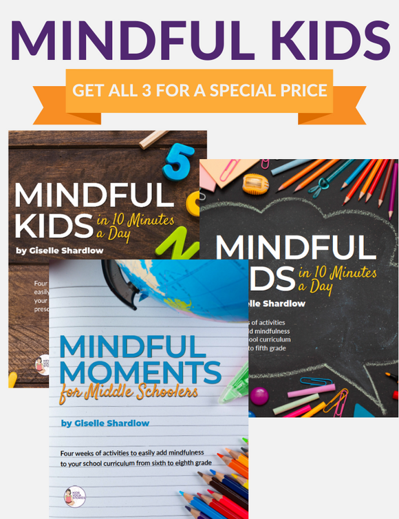 Mindful Kids in 10 Minutes a Day - 3 PACK