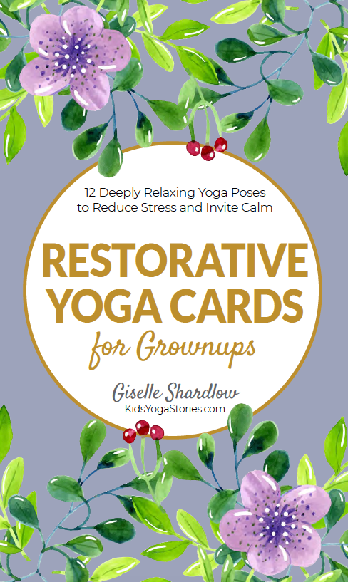 Restorative Yoga Cards for Grownups