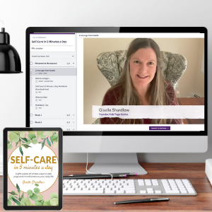 Self-Care in 5 Minutes a Day Workbook + Video Series