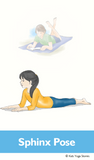 Beach Yoga Cards for Kids