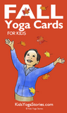 Fall Yoga Cards for Kids