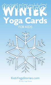 Winter Yoga Cards for Kids
