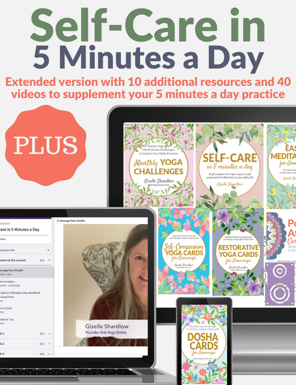 Self-Care in 5 Minutes a Day PLUS (+ Video Series)