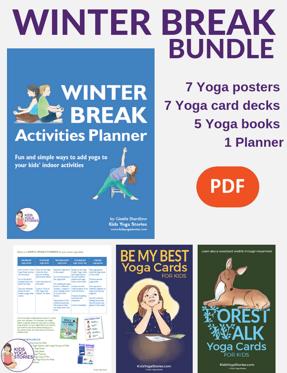 Winter Break Activities Bundle