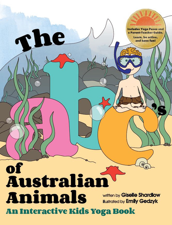 Front cover page or cover image for the abcs of australian animals Book