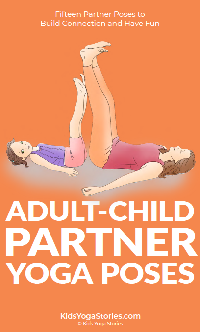 Adult-Child Partner Yoga Poses Cards