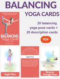 Balancing Yoga Cards for Kids