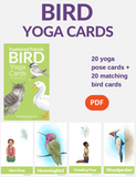 Bird Yoga Cards for Kids