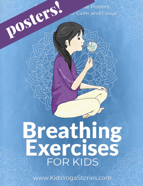 Breathing Exercises for Kids Posters