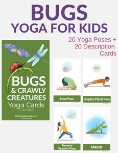 Bugs & Crawly Creatures Yoga Cards for Kids