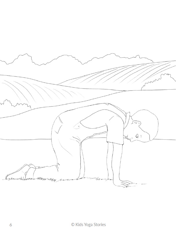 Calming Coloring Pages for Kids - Yoga Poses - Kids Yoga ...