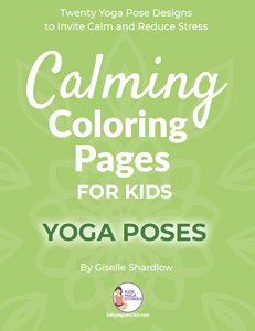 Calming Coloring Pages for Kids - Yoga Poses