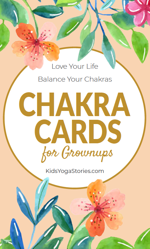 Chakra Cards for Grownups Pack