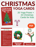 Christmas Yoga Cards for Kids