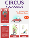 Circus Yoga Cards for Kids