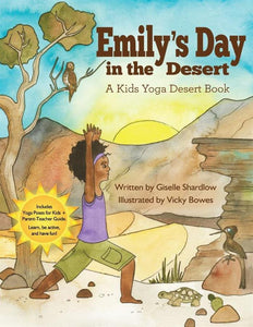 Front cover page or cover image for emilys day in the desert Book