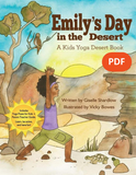 Sample pages or images for emilys day in the desert