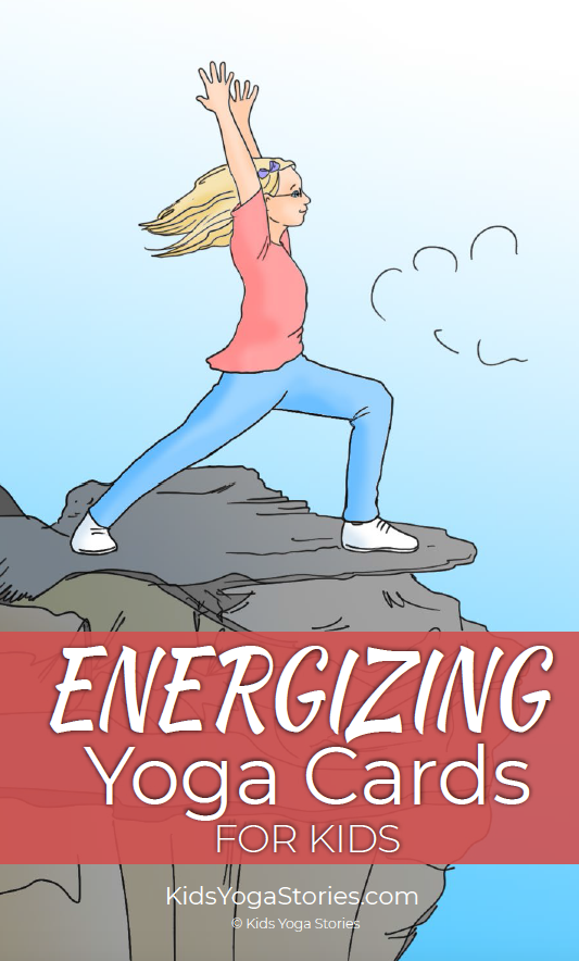 Energizing Yoga Cards for Kids