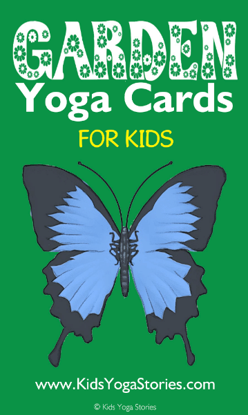Garden Yoga Cards for Kids