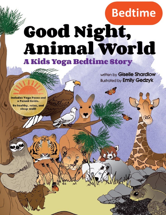 Front cover page or cover image for good night animal world Book