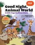 Sample pages or images for good night animal world