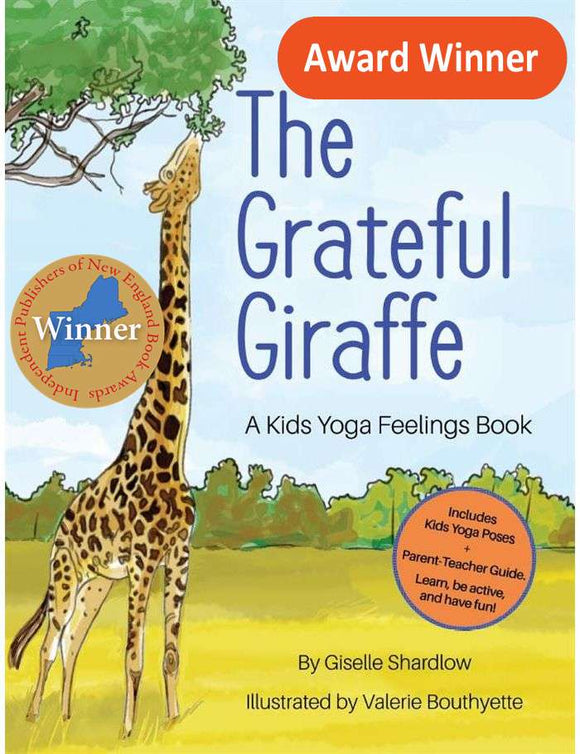 Front cover page or cover image for the grateful giraffe Book